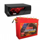 EXIDE MAGIC 825VA HOME UPS + Exide Inva Tubular IT 500 (150Ah)